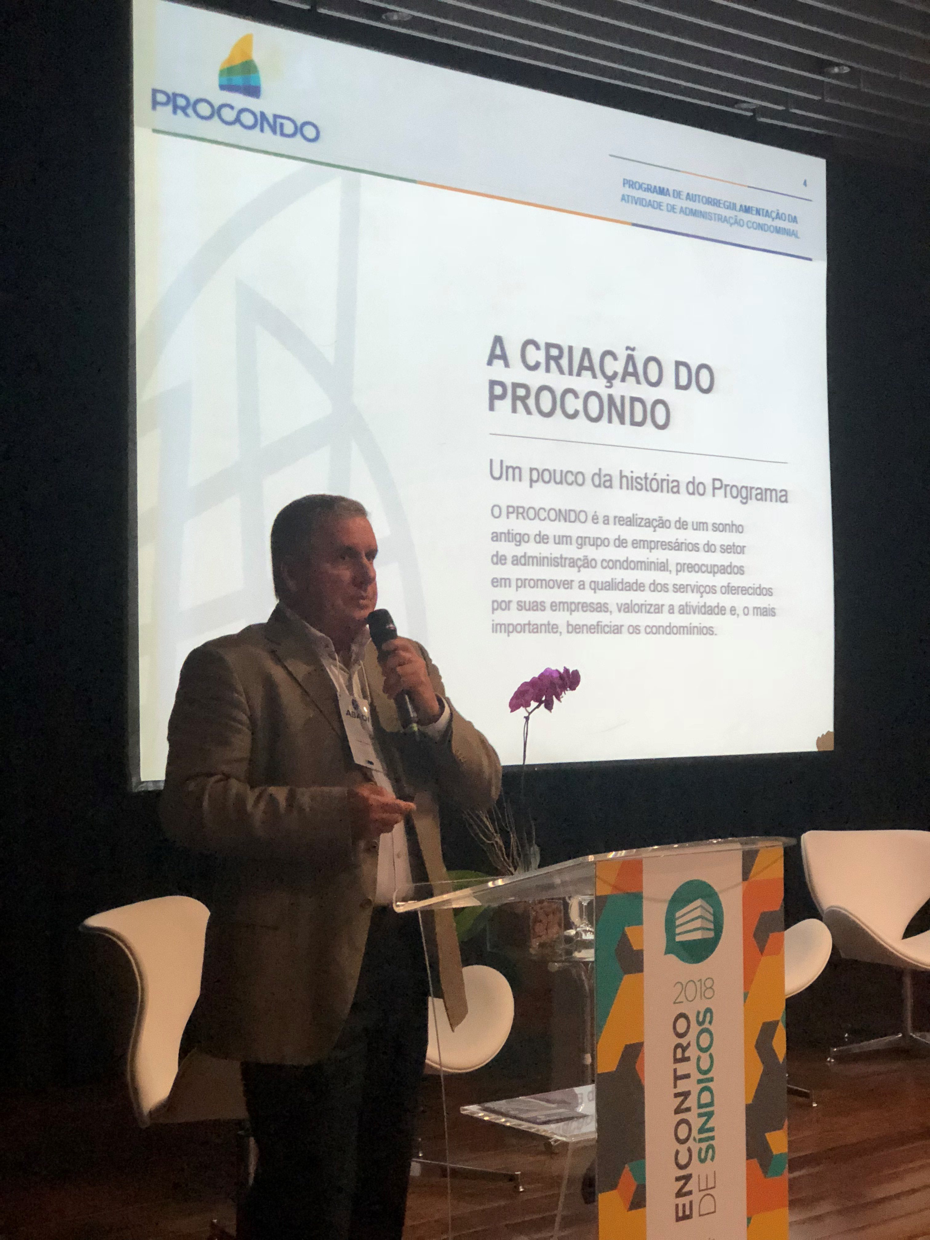 Procondo no Encontro de Síndicos 2018
