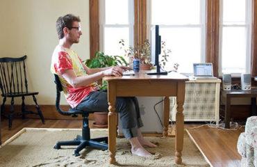 Home office e o condomínio